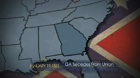 Georgia Secedes From Union