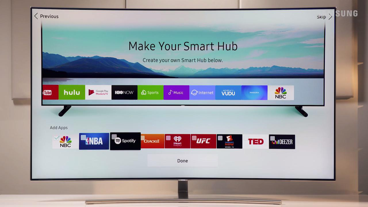 Cable Connections - 2017 Samsung Televisions (Q9F)