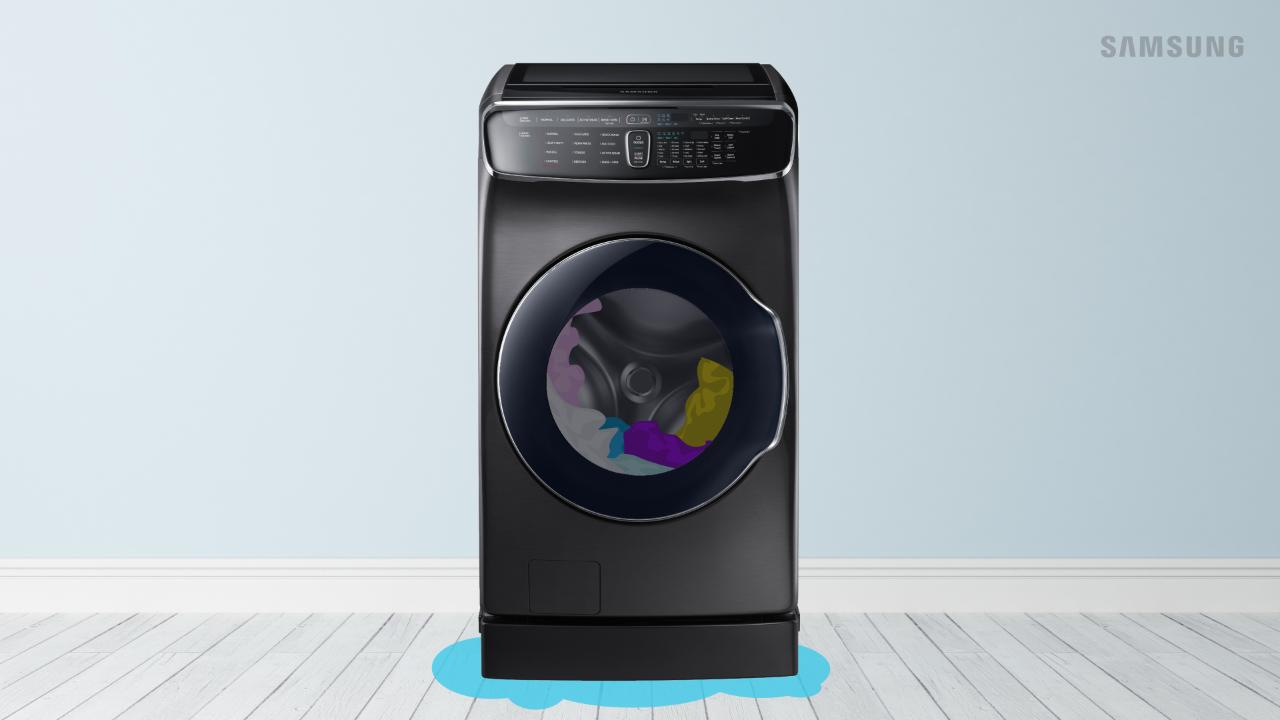 The washing machine Samsung does not squeeze and does not drain the water: what to do 81