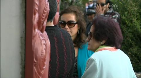 Video for Kuia stand off at Waitangi