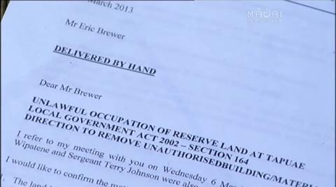 Video for New Plymouth District Council withdraws eviction notice