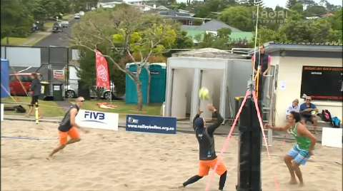Video for 2013 North Harbour Open Beach Volleyball champs