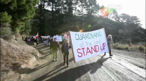 Video for Mining consent concerns local iwi