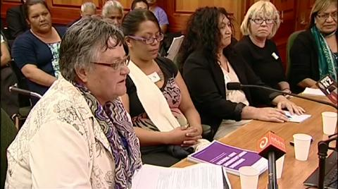 Video for State housing residents petition to MPs
