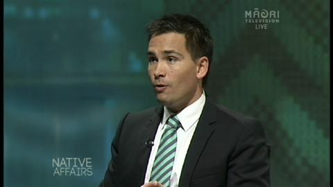 Video for Native Affairs - Simon Bridges
