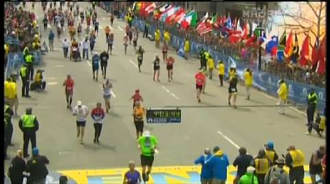 Video for Bombs explode at Boston Marathon finish line