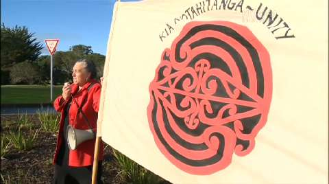 Video for Locals oppose Mātiatia marina proposal