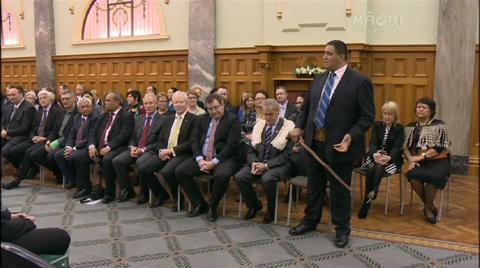 Video for Call for change to Māori protocols in Parliament not welcomed