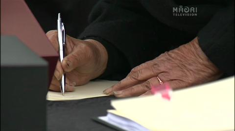 Video for Ngāti Haua signs deed of settlement