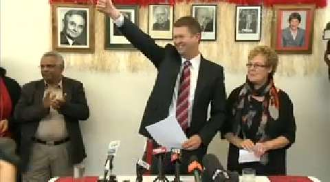Video for Cunliffe bids for Labour leadership