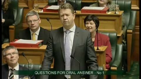 Video for Cunliffe's first go at Key as Labour leader