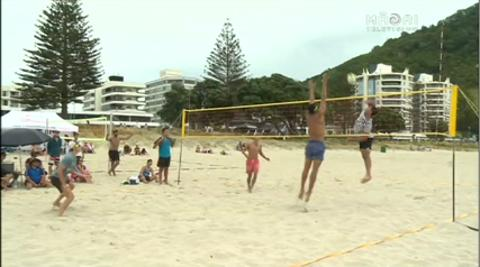 Video for Grand Slam Beach Volleyball Comp