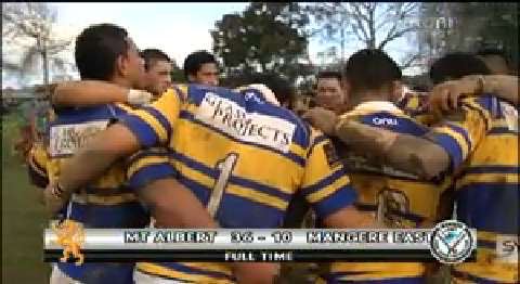 Video for Mt Albert Lions secures win over Māngere Hawks