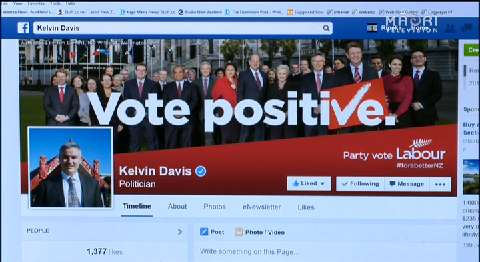 Video for Kelvin Davis remains defiant despite instructions from Labour party