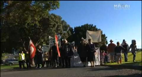 Video for Te Ātiawa signs deed of settlement