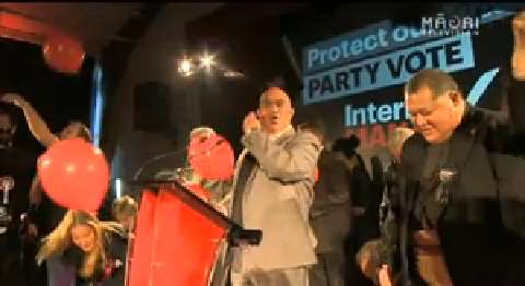Video for Big promises made at Internet-MANA election campaign launch