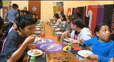Video for Harawira and Turei push for Feed the Kids Bill