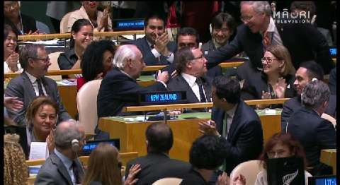 Video for New Zealand win seat on the UN Security Council