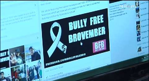 Video for Bully Free Brovember campaign aims to make NZ communities safer