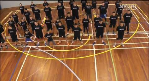 Video for Basketball Academy students send haka challenge video to Ellen