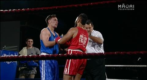 Video for Wellington sportstars give it their all in the ring for Cure Kids