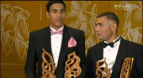 Video for Māori Sports Awards goes off with a duo bang