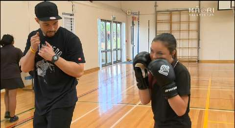 Video for Parker meets young boxing prospects in Manurewa