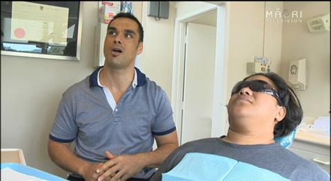 Video for 100 patients receive free dental care