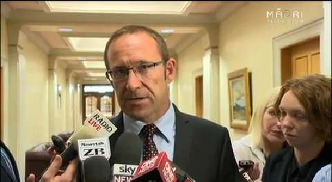 Video for Andrew Little back-tracks on comments about Māori sovereignty