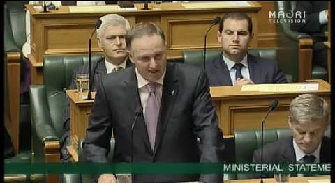 Video for John Key confirms deployment to Iraq