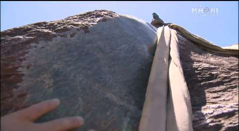 Video for Greenstone boulders to adorn Hagley Park for Te Matatini