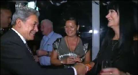 Video for Winston Peters promotes change in Northland following victory