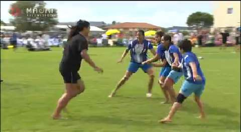 Video for World Champion Kabaddi Womens team from India face NZ in 5-match series