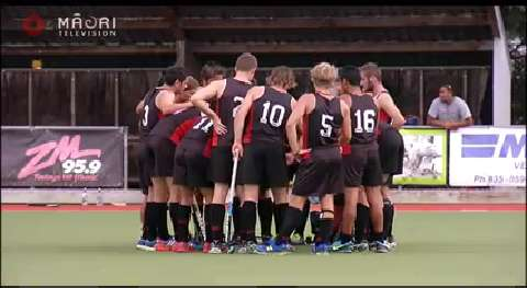 Video for Young Māori players win opening match at hockey festival