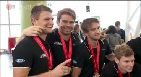 Video for Black Sticks claim thrilling win by penalty shootout