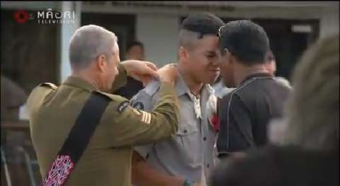 Video for Special badging of cadets ceremony held in Whangarei