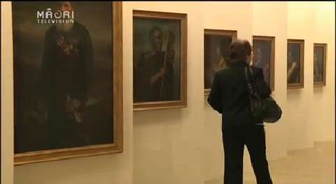 Video for Official opening for Lindauer Māori portraits exhibition in Czech Republic