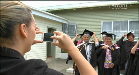 Video for Special marae ceremony for senior graduates in Panguru