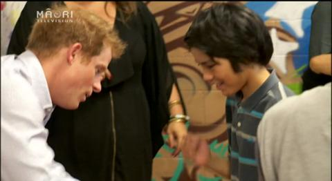 Video for An adventurous day for Prince Harry in Auckland
