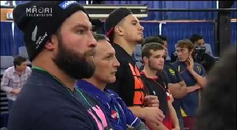 Video for Kawerau high school students get a surprise visit from Rugby stars
