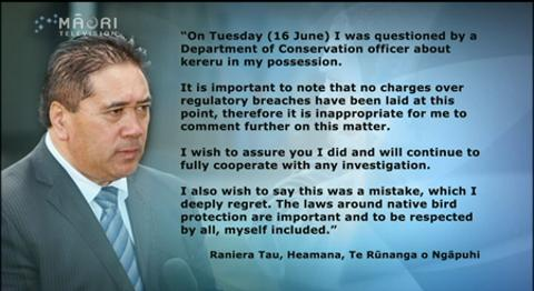 Video for Ngāpuhi chairman under investigation for poaching wood pigeons