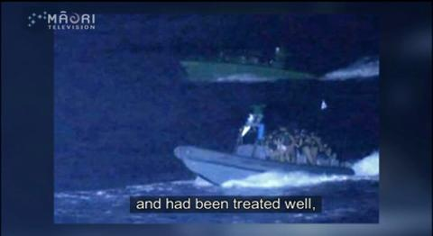 Video for Exclusive footage obtained from Freedom Flotilla before Israeli interception