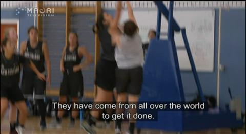 Video for NZ's best trial for Tall Fern team