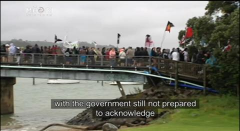 Video for District Māori Councils make claim against Govt over new flag