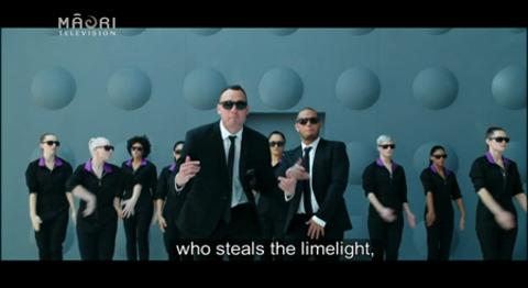 Video for Men in Black feature in latest Air NZ safety video