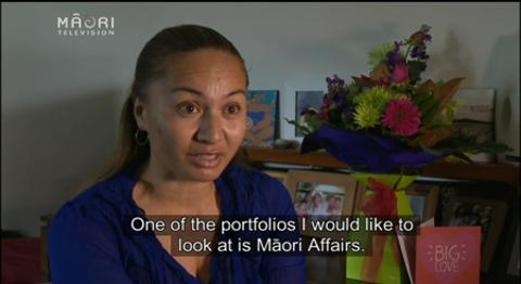 Video for Marama Davidson expresses interest in Māori Affairs portfolio