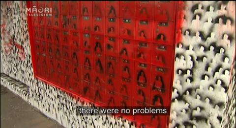 Video for Tame Iti artwork stirs concern among locals