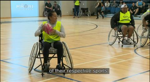 Video for Wheelchair turbo touch launch a hit