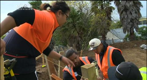 Video for Reality show inspires Māori trades apprentices to help the community