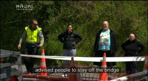 Video for Upper Hutt bridge closure cuts off nearly 70 homes
